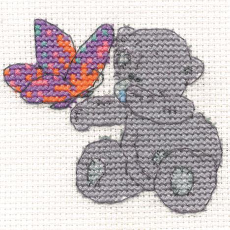 Beautiful Butterfly Me to You Bear Mini Cross Stitch Kit  £2.99