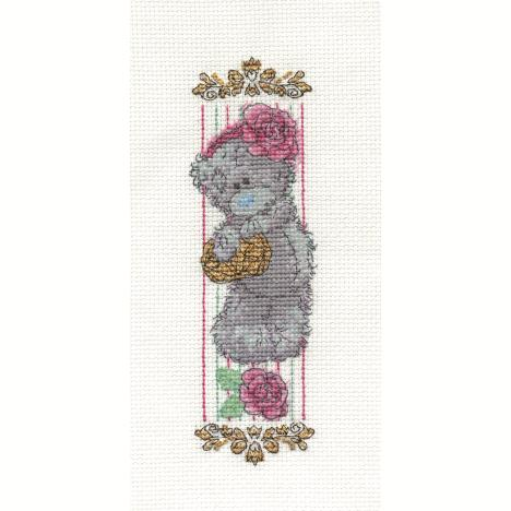 Vintage Rose Bookmark Me to You Bear Cross Stitch Kit  £9.49