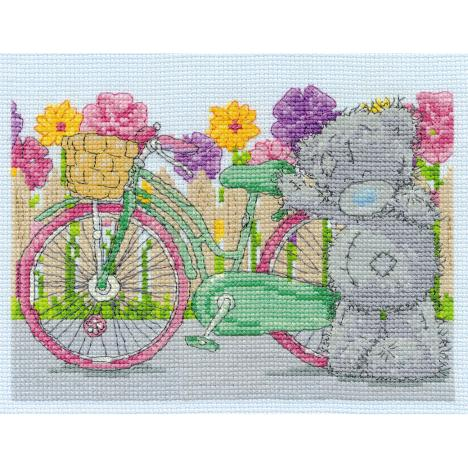 Spring Cycle Me to You Bear Cross Stitch Kit  £16.99