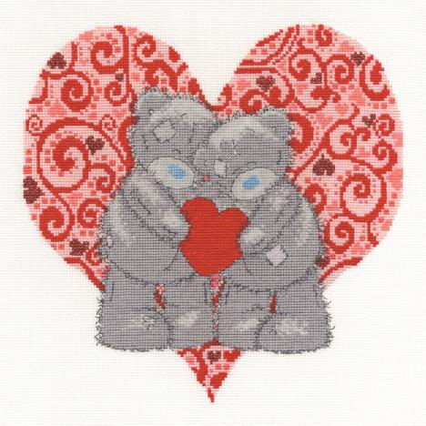 Love Bears Me to You Bear Cross Stitch Kit  £28.99