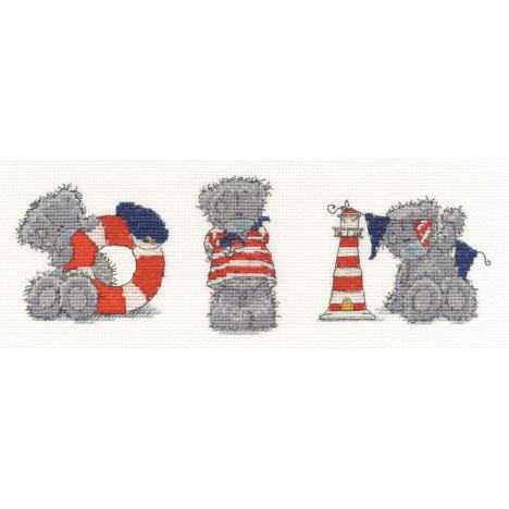 Three Little Sailors Me to You Bear Cross Stitch Kit  £20.99