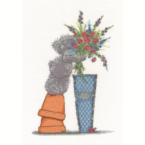 Fresh Bouquet Me to You Bear Cross Stitch Kit  £26.99