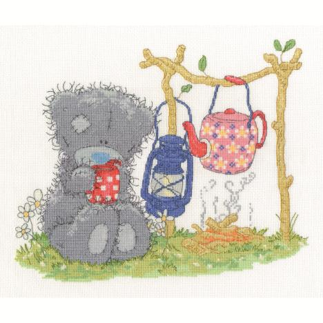 Camping Me to You Bear Cross Stitch Kit  £28.99