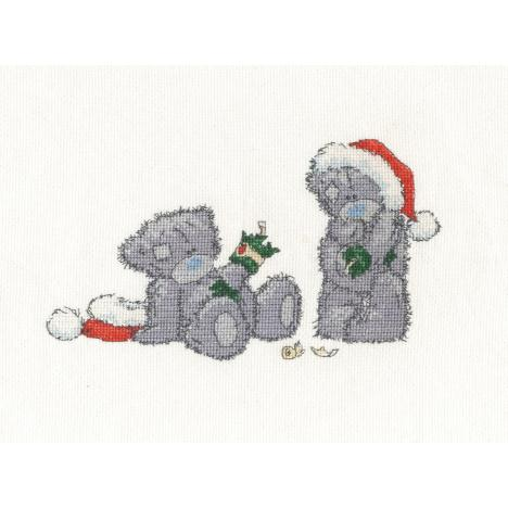 Christmas Crackers Me to You Bear Cross Stitch Kit   £20.99