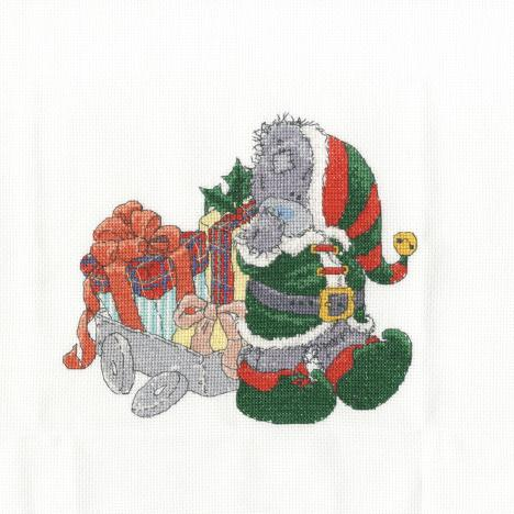 Delivering Christmas Gifts Me to You Bear Cross Stitch Kit   £20.99
