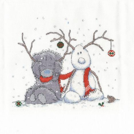 My Snowman Me To You Bear Cross Stitch Kit Bl1098 72