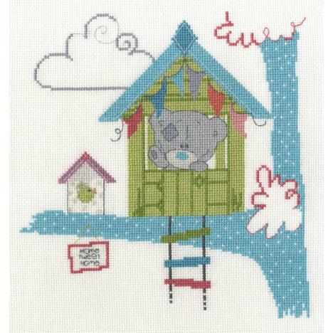 Home Tweet Home Me to You Bear Cross Stitch Kit  £26.99
