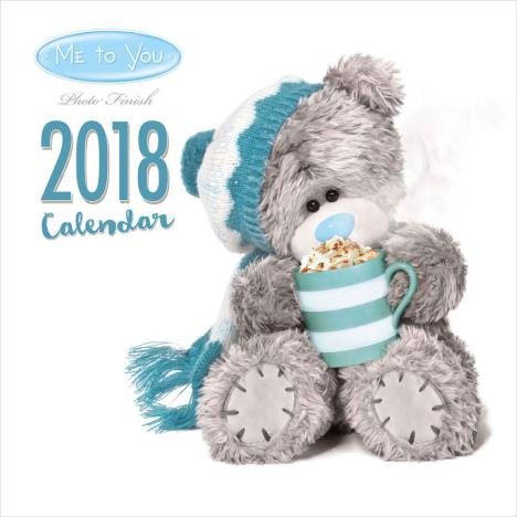 2018 Me to You Bear Photo Finish Square Calendar  £9.99