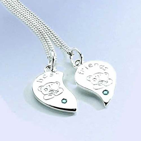 Me to You Bear Best Friends Pendant   £29.99