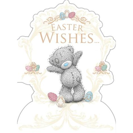 Easter Wishes Me to You Bear Easter Card  £1.79