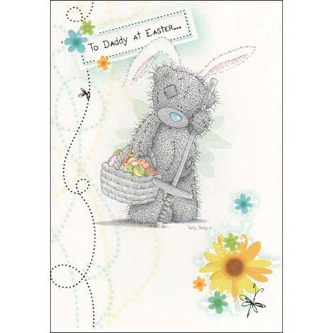 Daddy Easter Me to You Bear Card  £1.60