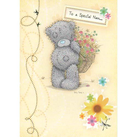 Special Nan Easter Me to You Bear Card  £1.60