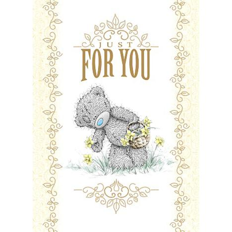 Just For You Me to You Bear Easter Card   £1.79
