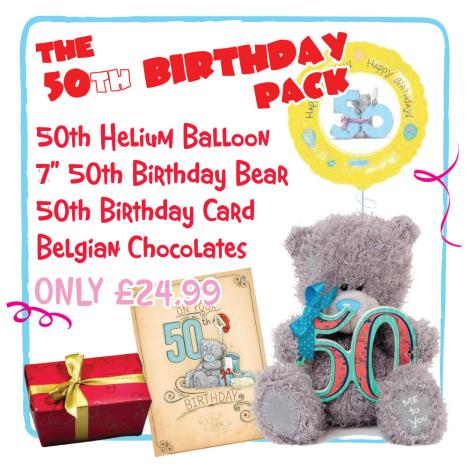 50th Birthday Pack   £24.99