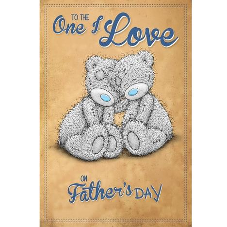 One I Love Me to You Bear Fathers Day Card   £3.59