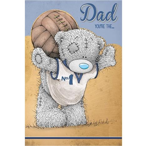 Bear With Football Me to You Bear Fathers Day Card   £3.59