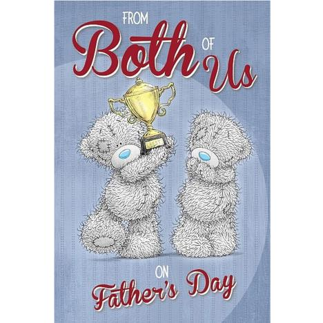 From Both Of Us Me to You Bear Fathers Day Card   £3.59