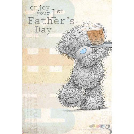 First Fathers Day Me to You Bear Card  £2.49