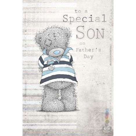 Special Son Me to You Bear Fathers Day Card  £2.49