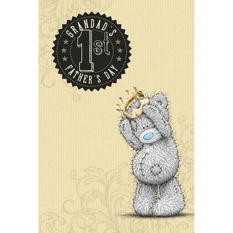 Grandads 1st Fathers Day Me to You Bear Card  £2.49
