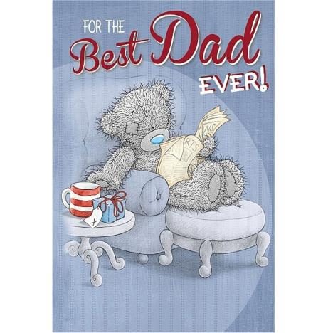 Best Dad Ever Me to You Bear Fathers Day Card   £2.49