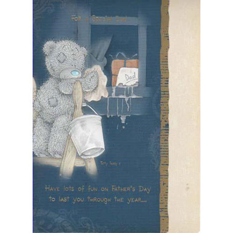 Dad Washing Windows Me to You Bear Fathers Dad Card  £1.60