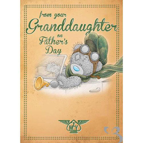 From Granddaughter on Fathers Day Me to You Bear Card  £1.79