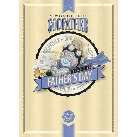 Wonderful Godfather Me to You Bear Fathers Day Card  £1.79