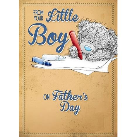 From Your Little Boy Me to You Bear Fathers Day Card   £1.79