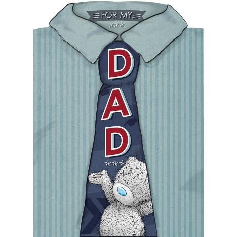 Dad Shirt & Tie Me to You Bear Father Day Card  £2.49