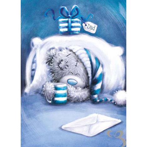 Dad In Bed Me to You Bear Fathers Day Card  £1.79