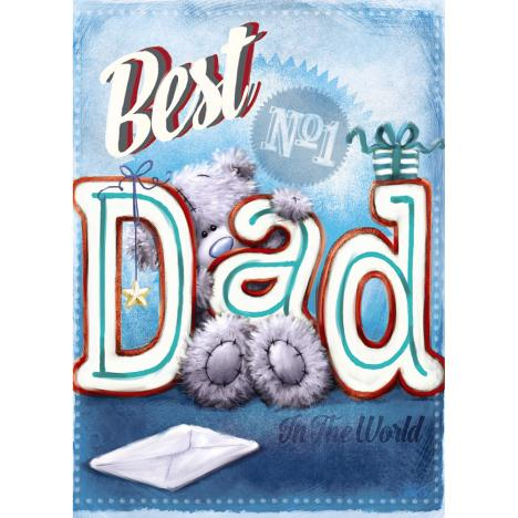 Best Dad Me to You Bear Softly Drawn Father Day Card  £1.79