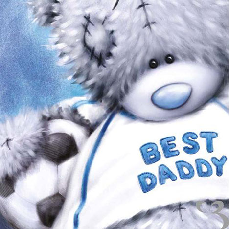 Daddy with Football Me to You Bear Fathers Day Card  £1.89