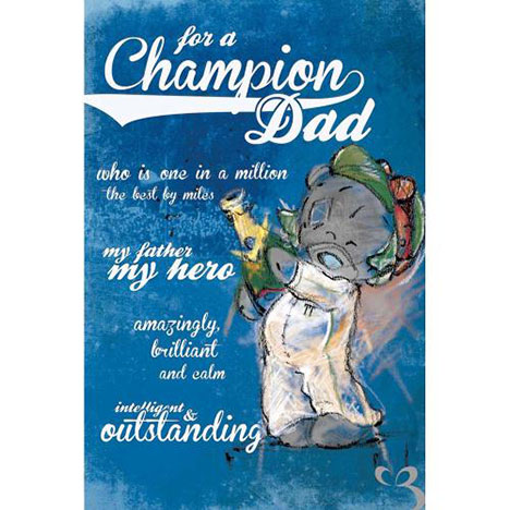 Champion Dad Me to You Bear Father