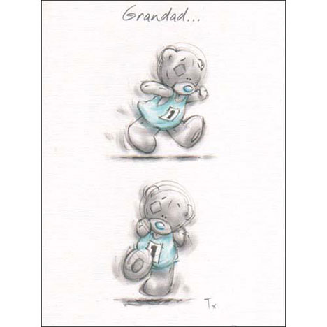 Grandad Me to You Bear Sketchbook Fathers Day Card   £1.60