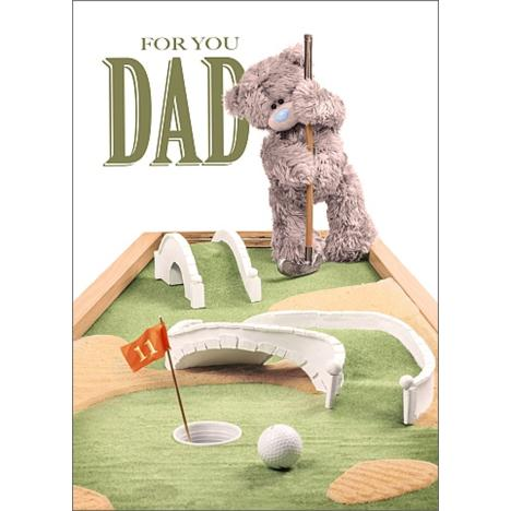 3D Holographic Dad Me to You Bear Fathers Day Card  £2.69