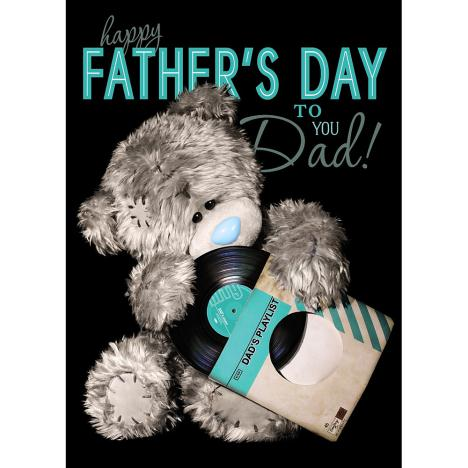 3D Holographic Dad Me to You Bear Father Day Card  £2.69
