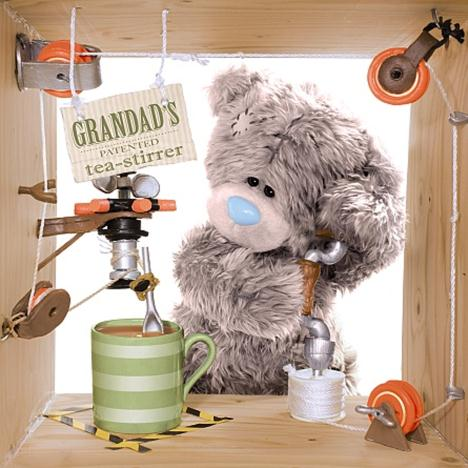 Grandad Invention Me to You Bear Fathers Day Card  £1.89