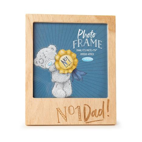 No 1 Dad Me to You Bear Wooden Frame  £4.99