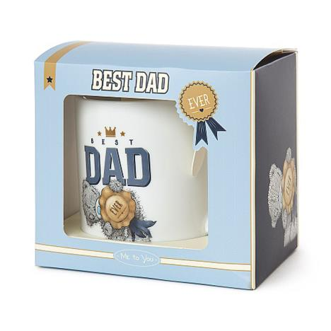 Best Dad Ever Me To You Bear Boxed Mug  £5.99