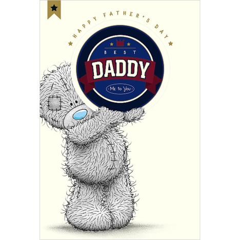 Best Daddy Me To You Bear Fathers Day Card With Beer Mat  £3.59