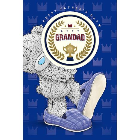 Best Grandad Me To You Bear Fathers Day Card With Beer Mat  £3.59
