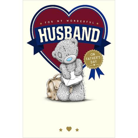 Husband Me To You Bear Father Day Card  £2.49