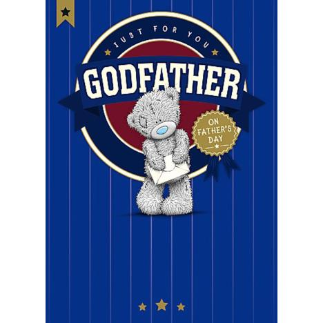 Godfather Me To You Bear Fathers Day Card  £1.79