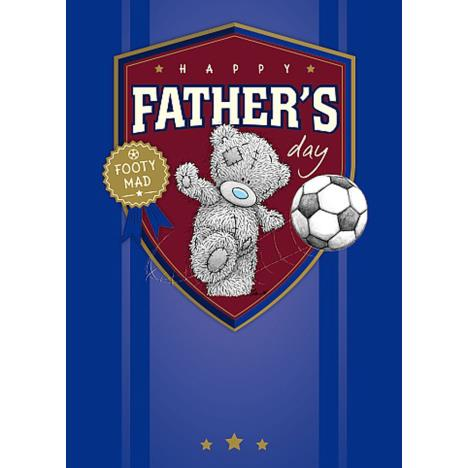 Footy Mad Me To You Bear Fathers Day Card  £1.79