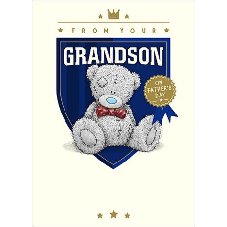 From Your Grandson Me To You Bear Fathers Day Card  £1.79