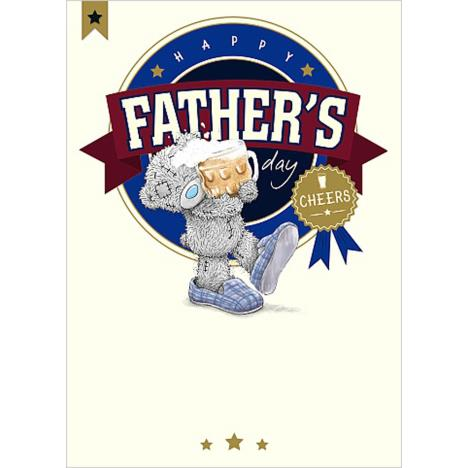 Cheers Me To You Bear Fathers Day Card  £1.79