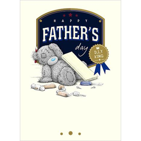 D.I.Y King Me To You Bear Fathers Day Card  £1.79
