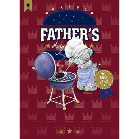 BBQ King Me To You Bear Fathers Day Card  £1.79