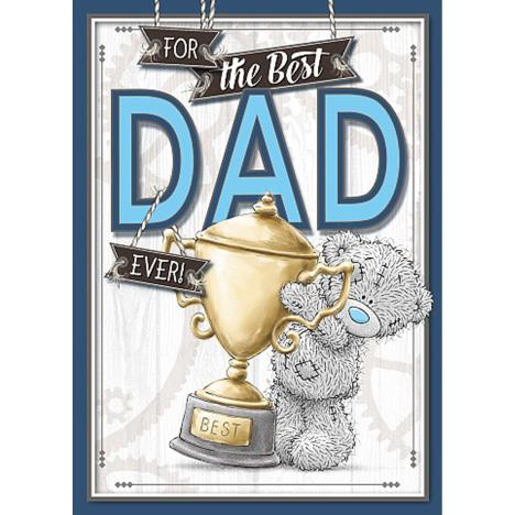 Best Dad Ever Me to You Bear Fathers Day Card  £1.79